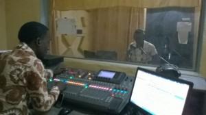 Station de radio à Bobo Dioulasso